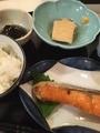 塩鮭定食@東心斎橋 食彩のぐち