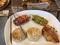 メロンパン、そら豆とベーコンのタルティーヌ@膳所駅前 よりみちパ