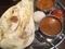 Bランチ(野菜カレーとバターチキンカレー)@島之内 バッティ