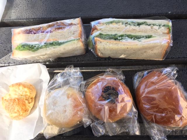 サンドイッチ、スコーン、あんぱん他@枚方 イロハベーカリー