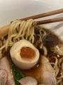 味玉牡蠣干し黒醤油ラーメン@中華そば食堂IKR51