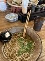 ランチ@東心斎橋 鯛炊き蕎麦とおかず きし