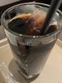 アイスコーヒー@ホリーズカフェ
