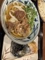 肉うどん@丸亀製麺
