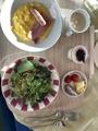朝食セット@ロテルド比叡 ロワゾブルー