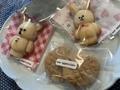 フィナンシェ、ピーナッツバタークッキー@nao appreciate