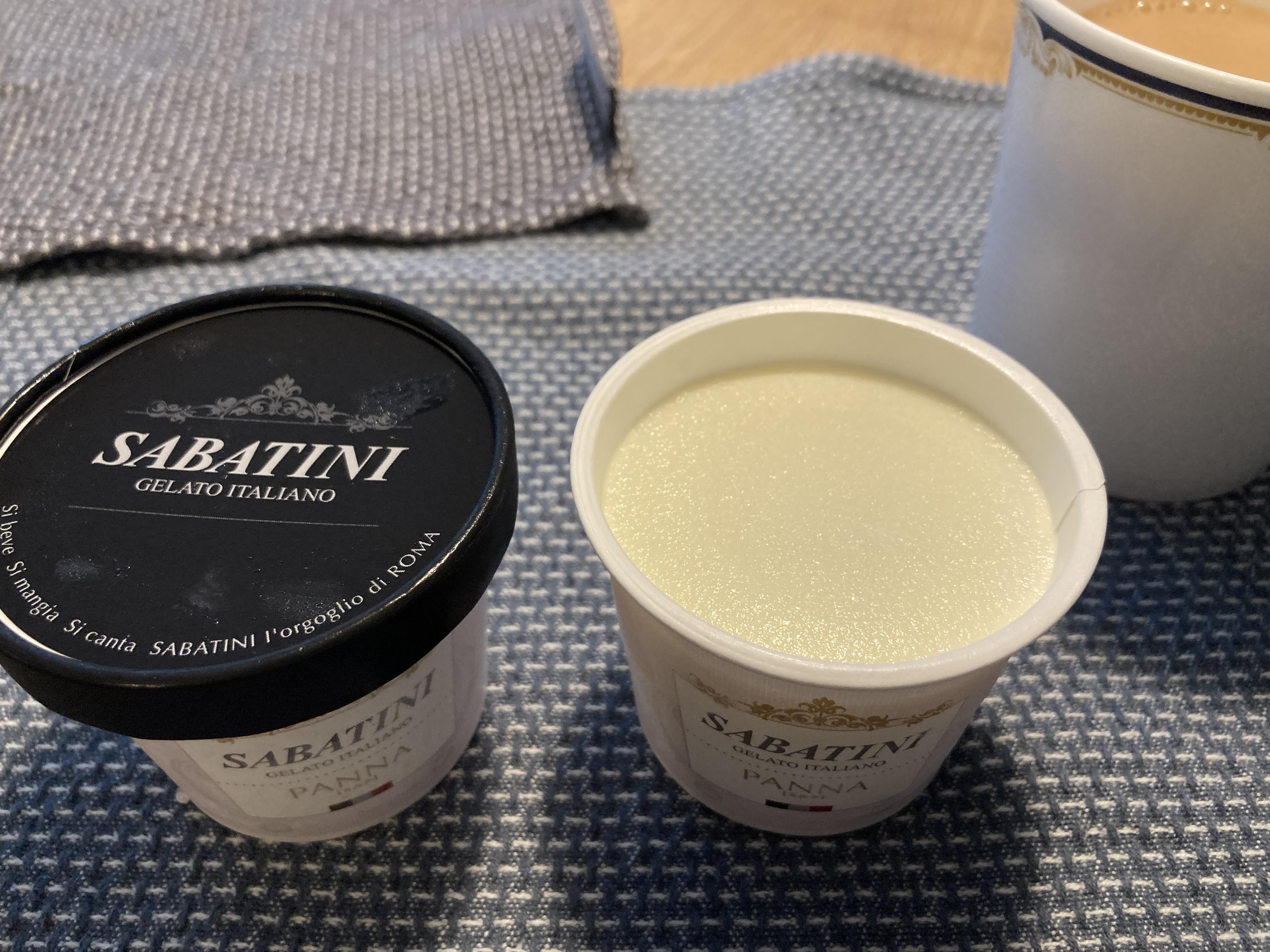 ミルクアイスクリーム SABATINI