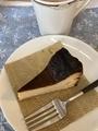 バスクチーズケーキ ミニ@大津 マーケット エスプレッソ&ベジタブル