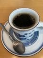 ホットコーヒー@浜大津 ブロッコリー