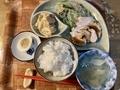棒棒鶏定食@大津 ナカマチ商店街 喫茶 長江