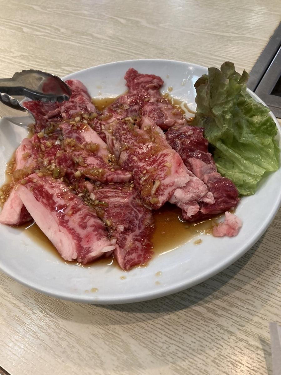 昌慶苑 お肉