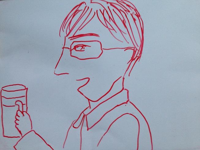 絵に描いたような理想のメガネ男子