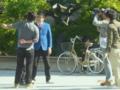 銀シャリの撮影(京大で)