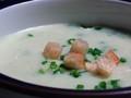 [スープ]空豆のビシゾワーズ