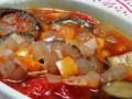 [スープ]茄子とトマトのスープ