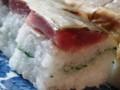 [寿司]潤目鰯の押し寿司
