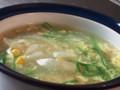 [スープ]手羽中の茹で汁スープ