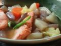 [味噌汁]新巻鮭の三平汁
