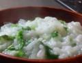 [ご飯]七分粥:大根で一草粥