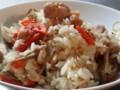 [ご飯]土鍋の鶏炊きおこわ