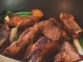 [豚肉]スペアリブの粒マスタード煮込み