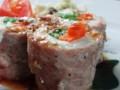 [豚肉]豆腐と野菜巻き