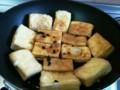 [中]高野豆腐の豆鼓炒め