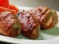 [豚肉]豚肉のりんご巻きソテー