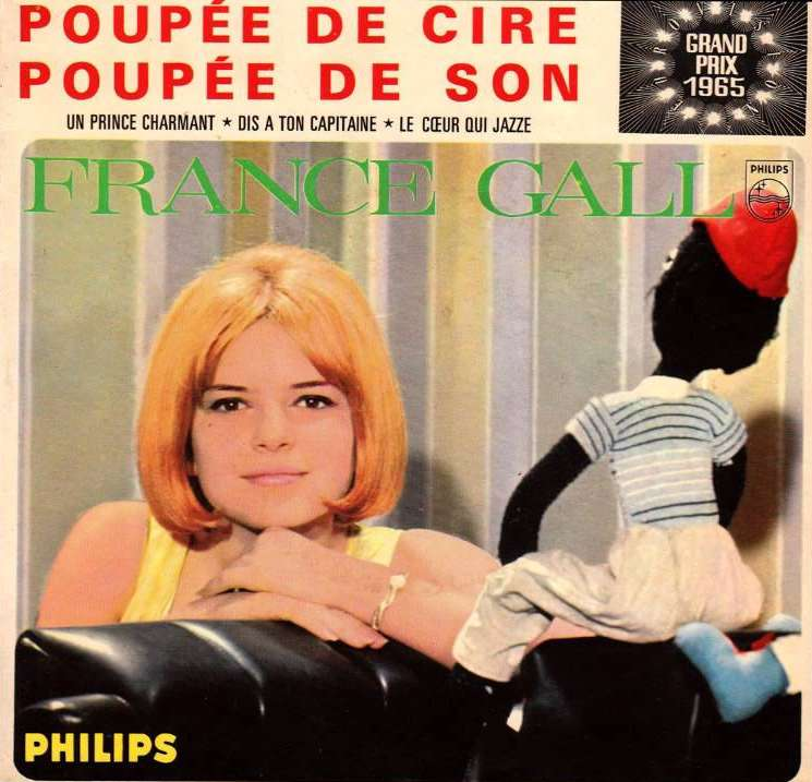 France Gall: Dis à ton Capitaine (1965) - YouTube