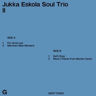 Jukka Eskola Soul Trio: Jukka Eskola Soul Trio II (2017) - Bandcamp