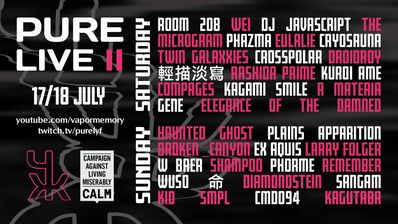 PURE LIVE II (Announcement 1/3) Full line up is OUT NOW - Twitter