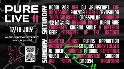 "shampoo: Live at ""PURE LIVE II"" (2021) - YouTube"