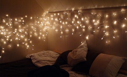 solar christmas tree string lights