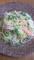 ハムと水菜のペペロンチーノ