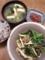 豚としめじと小松菜の中華炒め