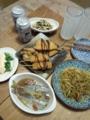 [宴会]アジの梅生姜煮