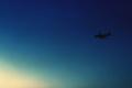 [空][青空][飛行機]