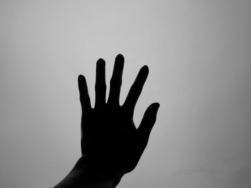 [空][手]