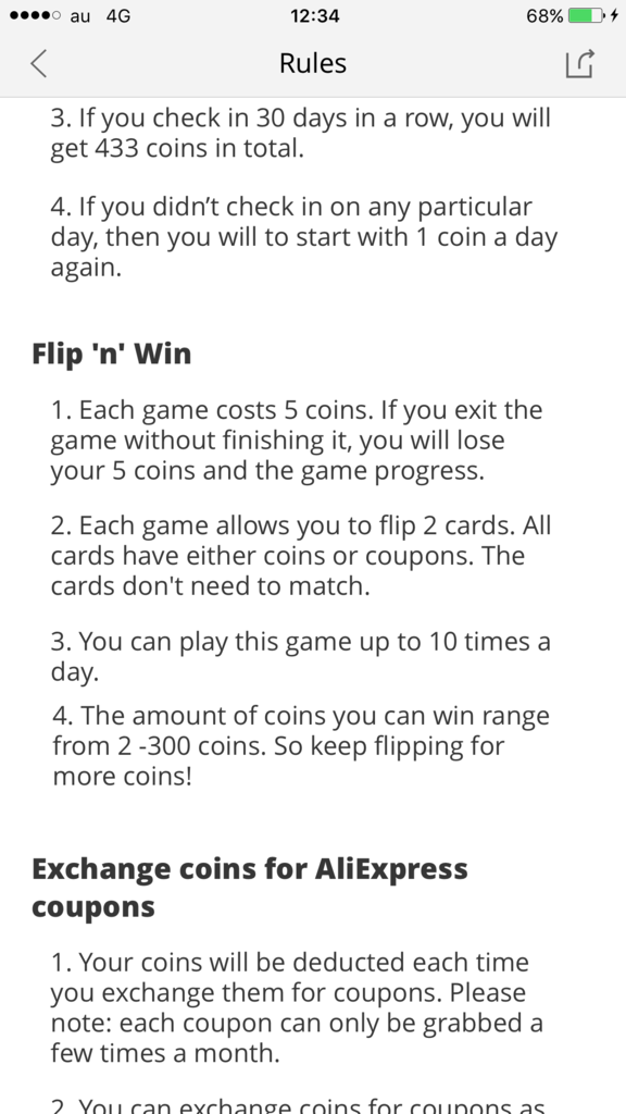 AliExpress-コイン