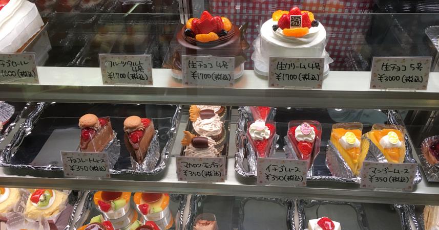 ルアイのケーキ