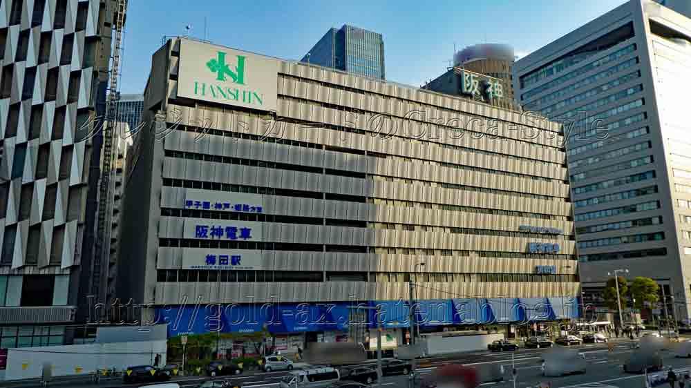 大阪梅田ツインタワーズ・サウス(阪神百貨店)高層ビル