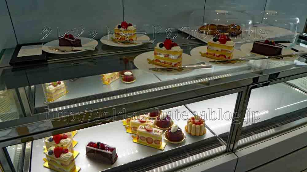 マリオット大阪のラウンジ アフタヌーンティー いちごケーキ