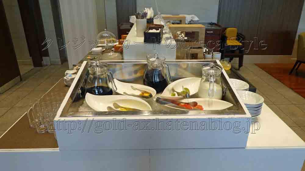 大阪マリオット都ホテルのクラブラウンジのアフタヌーンティでフルーツが食べられる