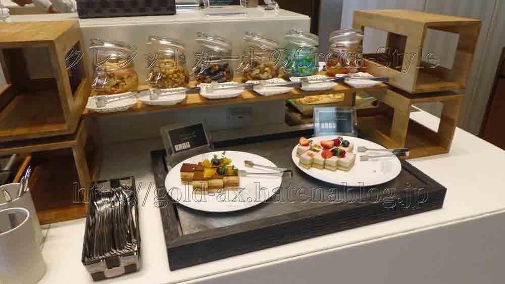 大阪マリオット都ホテルのクラブラウンジのアフタヌーンティーでケーキが食べられる