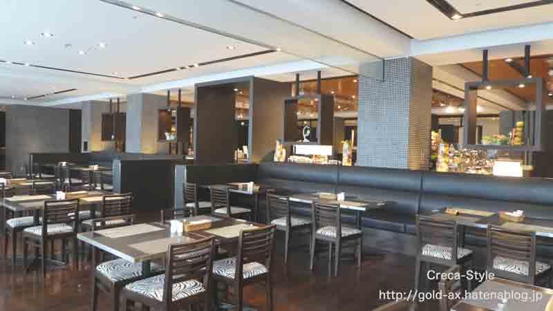 関西空港のホテル日航関空内のレストラン「ブラッスリー」でラグジュアリーカードで食事が無料