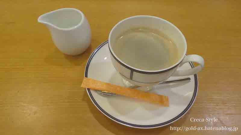 ホテル日航関西空港の花ざとでコーヒー