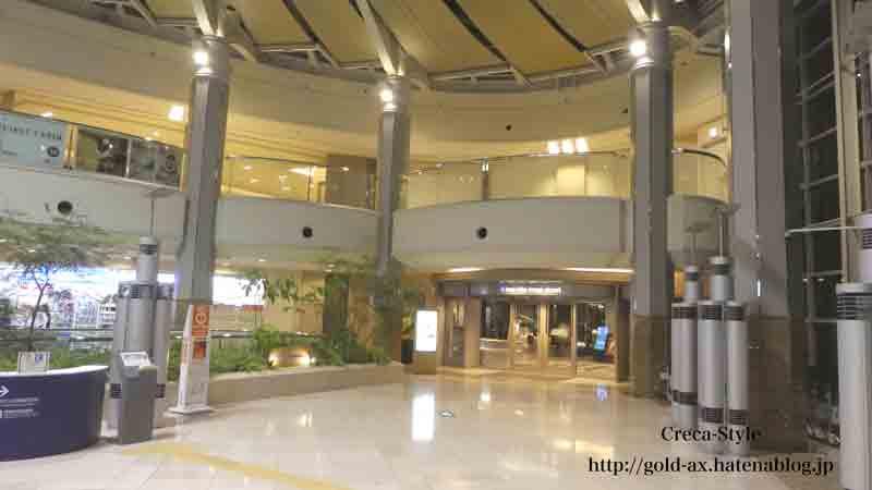 ホテル日航関西空港のレストランへのアクセス
