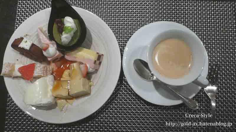 ホテル日航関西空港 ザ・ブラッスリーでブッフェでケーキも食べ放題