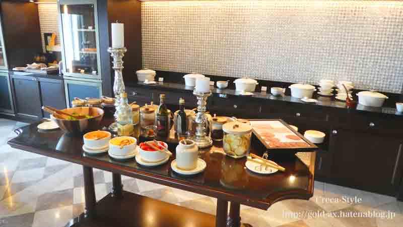 ザ・リッツ・カールトン大阪のクラブラウンジの昼食は豪華な内容