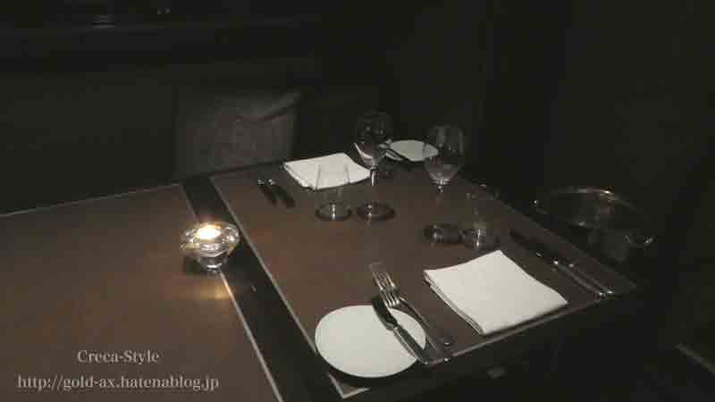 SPGアメックスでザ・リッツ・カールトン東京のタワーズでステーキ